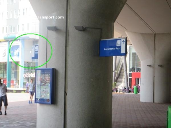 amsterdam johan cruijff arena met openbaar vervoer by public transport 04