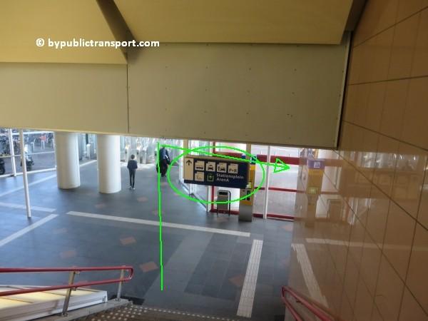 amsterdam johan cruijff arena met openbaar vervoer by public transport 17