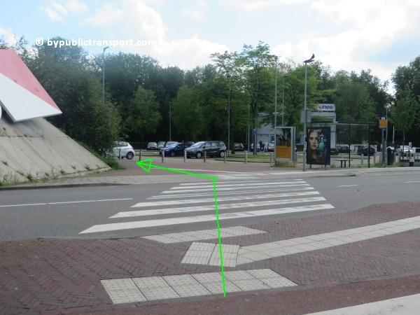 amsterdam johan cruijff arena met openbaar vervoer by public transport 20