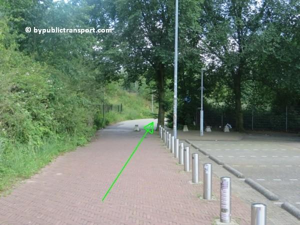 amsterdam johan cruijff arena met openbaar vervoer by public transport 22