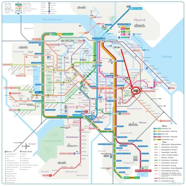 amsterdam metro tram map plan dappermarkt 600 x 598