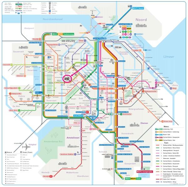 amsterdam metro tram map plan ten katemarkt 600 x 597