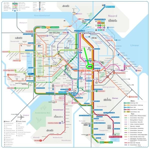 amsterdam metro tram map plan theater carre amsterdam 600 x 598