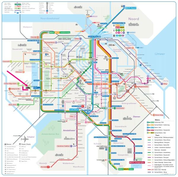 amsterdam metro tram map plan theater de meervaart amsterdam 600 x 598