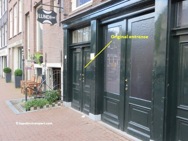anne frank house in amsterdam by public transport 01