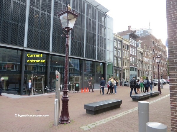 anne frank house in amsterdam by public transport 02