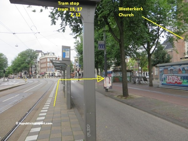 anne frank house in amsterdam by public transport 05