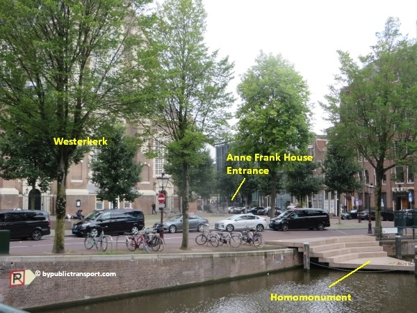 anne frank house in amsterdam by public transport 19