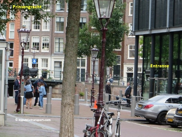 anne frank house in amsterdam by public transport 20