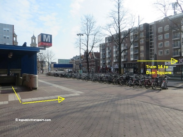 anne frank house in amsterdam by public transport 30