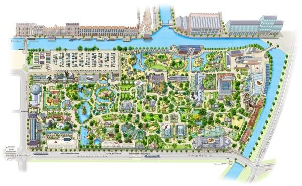 dierentuin artis amsterdam zoo plattegrond plan map 600 x 369 201910