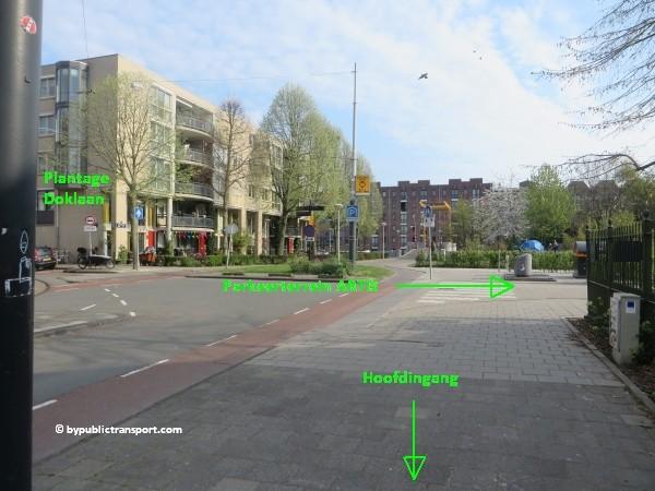 hoe kom ik bij artis amsterdam met het ov openbaar vervoer by public transport 02