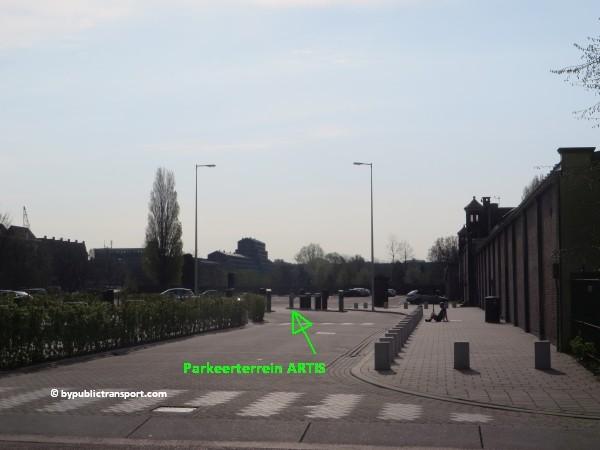 hoe kom ik bij artis amsterdam met het ov openbaar vervoer by public transport 03