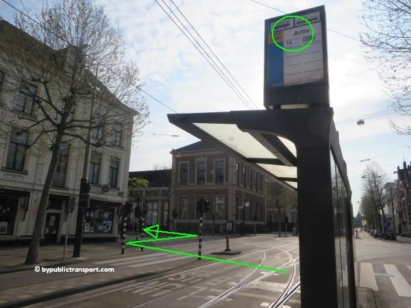 hoe kom ik bij artis amsterdam met het ov openbaar vervoer by public transport 10
