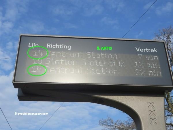 hoe kom ik bij artis amsterdam met het ov openbaar vervoer by public transport 14
