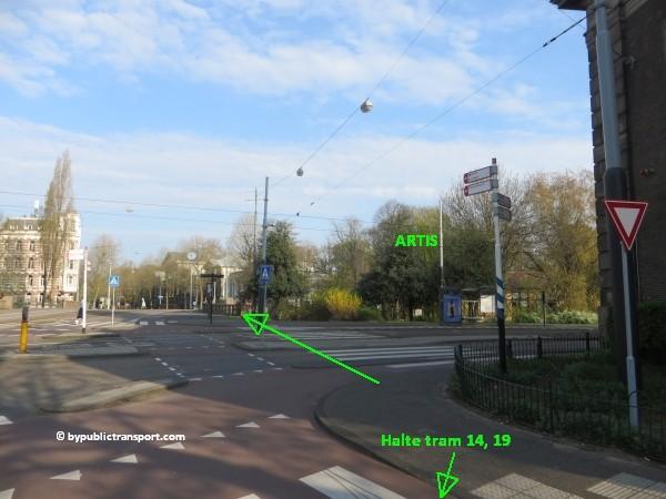 hoe kom ik bij artis amsterdam met het ov openbaar vervoer by public transport 15