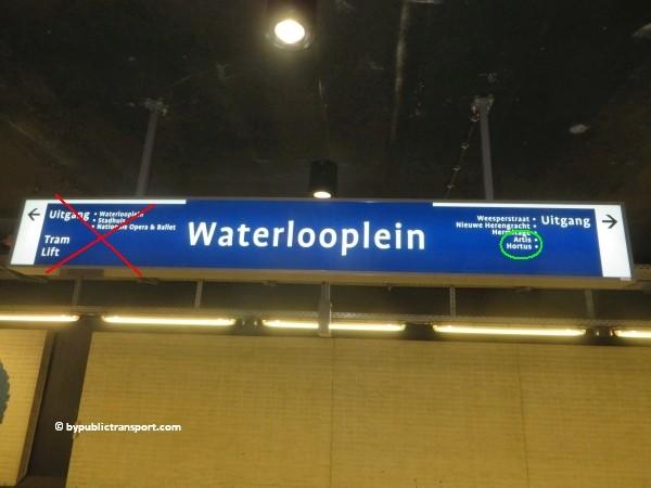 hoe kom ik bij artis amsterdam met het ov openbaar vervoer by public transport 20