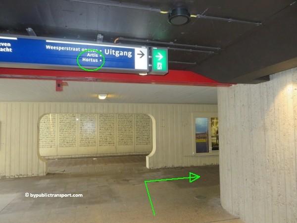 hoe kom ik bij artis amsterdam met het ov openbaar vervoer by public transport 23
