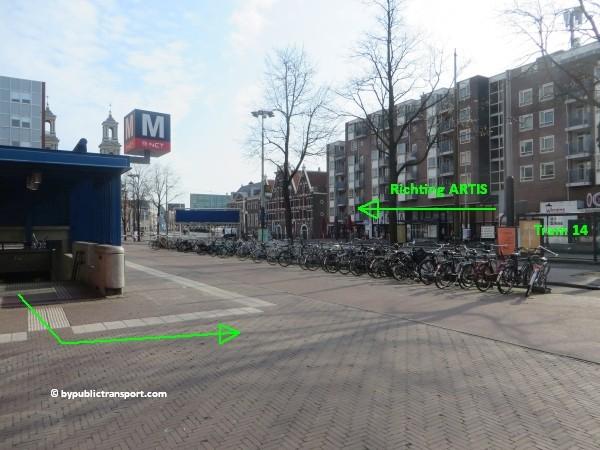 hoe kom ik bij artis amsterdam met het ov openbaar vervoer by public transport 37