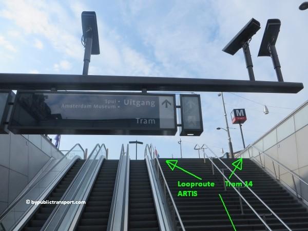 hoe kom ik bij artis amsterdam met het ov openbaar vervoer by public transport 42