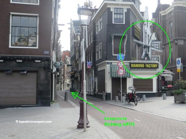 hoe kom ik bij artis amsterdam met het ov openbaar vervoer by public transport 46