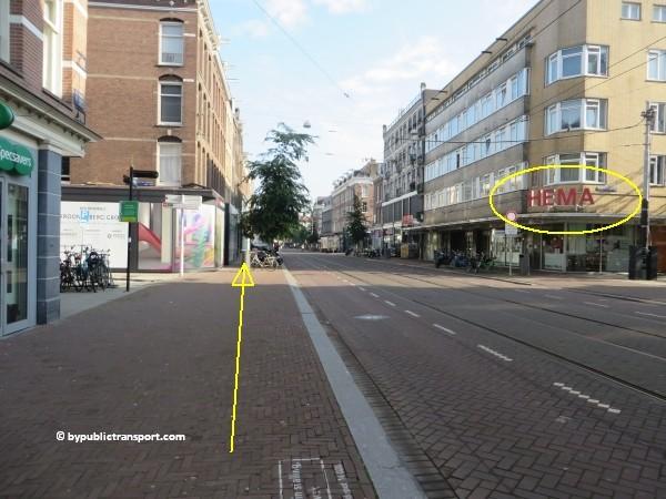 hoe kom ik bij de albert cuypmarkt amsterdam met het ov openbaar vervoer by public transport 09