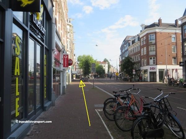 hoe kom ik bij de albert cuypmarkt amsterdam met het ov openbaar vervoer by public transport 11