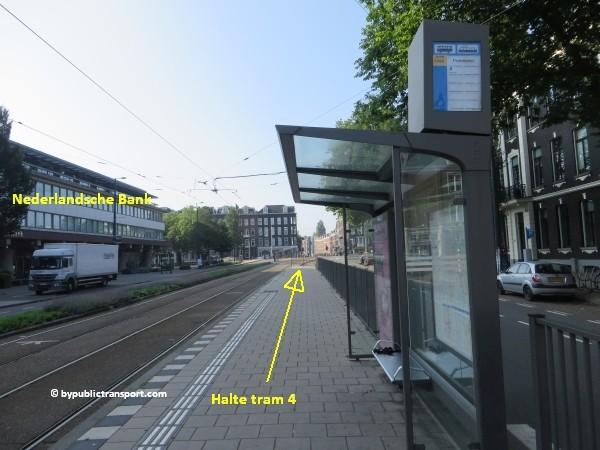 hoe kom ik bij de albert cuypmarkt amsterdam met het ov openbaar vervoer by public transport 14