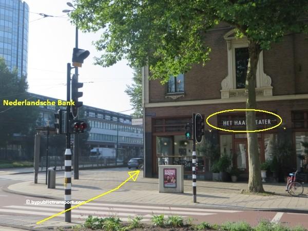 hoe kom ik bij de albert cuypmarkt amsterdam met het ov openbaar vervoer by public transport 16