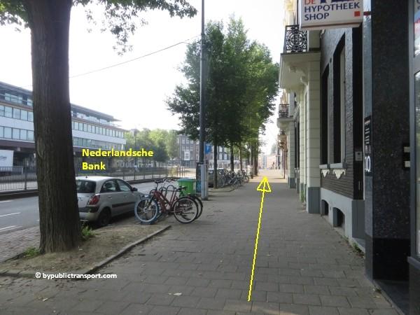 hoe kom ik bij de albert cuypmarkt amsterdam met het ov openbaar vervoer by public transport 17