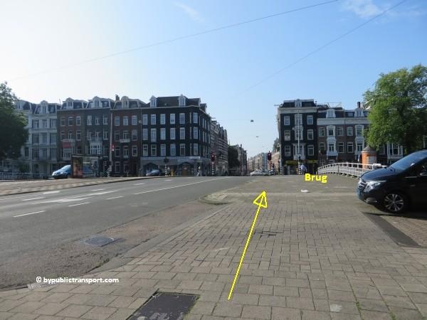 hoe kom ik bij de albert cuypmarkt amsterdam met het ov openbaar vervoer by public transport 18