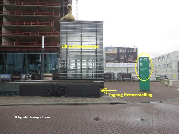hoe kom ik bij de centrale bibliotheek oba oosterdok in amsterdam met het ov openbaar vervoer by public transport 01