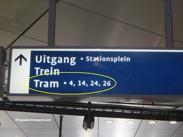 hoe kom ik bij de centrale bibliotheek oba oosterdok in amsterdam met het ov openbaar vervoer by public transport 16