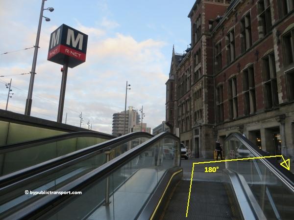 hoe kom ik bij de centrale bibliotheek oba oosterdok in amsterdam met het ov openbaar vervoer by public transport 19