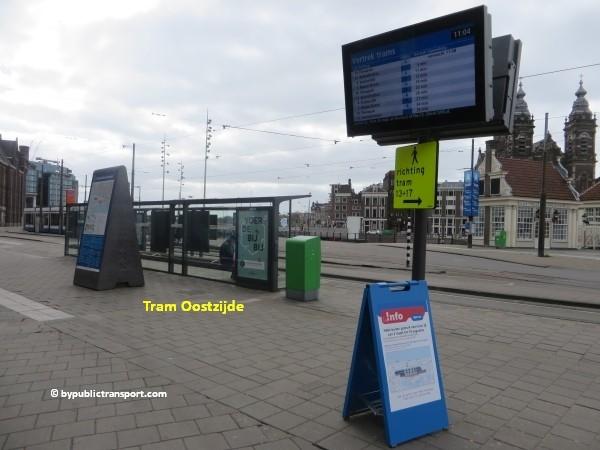 hoe kom ik bij de dappermarkt amsterdam met het ov openbaar vervoer by public transport 03