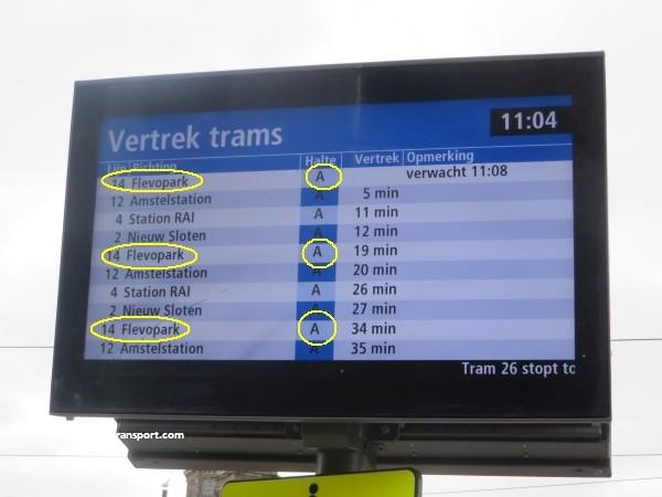 hoe kom ik bij de dappermarkt amsterdam met het ov openbaar vervoer by public transport 04