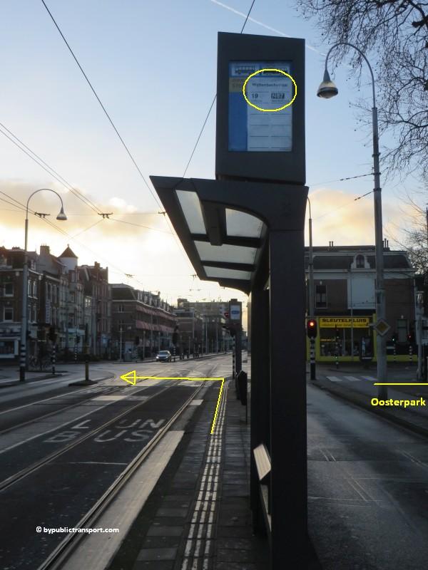 hoe kom ik bij de dappermarkt amsterdam met het ov openbaar vervoer by public transport 15