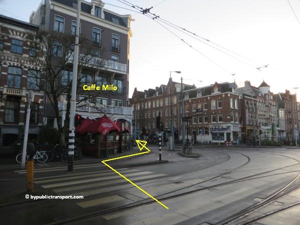 hoe kom ik bij de dappermarkt amsterdam met het ov openbaar vervoer by public transport 16