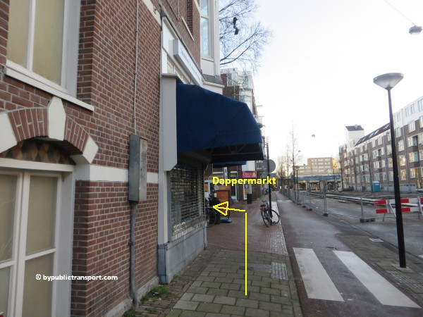 hoe kom ik bij de dappermarkt amsterdam met het ov openbaar vervoer by public transport 18
