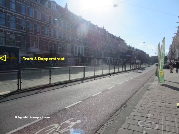 hoe kom ik bij de dappermarkt amsterdam met het ov openbaar vervoer by public transport 20