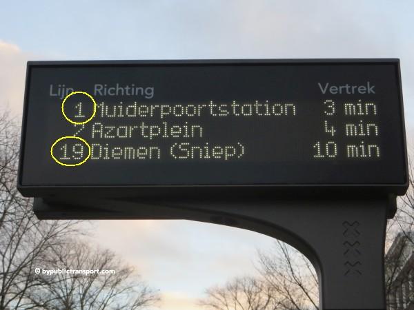 hoe kom ik bij de dappermarkt amsterdam met het ov openbaar vervoer by public transport 23