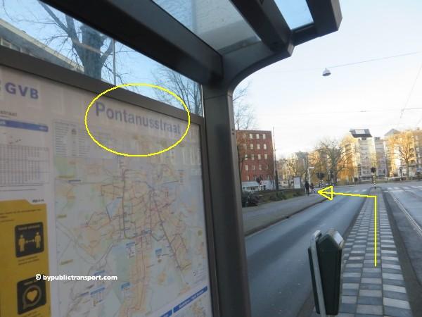 hoe kom ik bij de dappermarkt amsterdam met het ov openbaar vervoer by public transport 24
