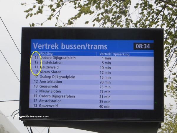 hoe kom ik bij de noordermarkt amsterdam met het ov openbaar vervoer by public transport 04