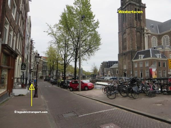 hoe kom ik bij de noordermarkt amsterdam met het ov openbaar vervoer by public transport 07