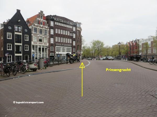 hoe kom ik bij de noordermarkt amsterdam met het ov openbaar vervoer by public transport 08