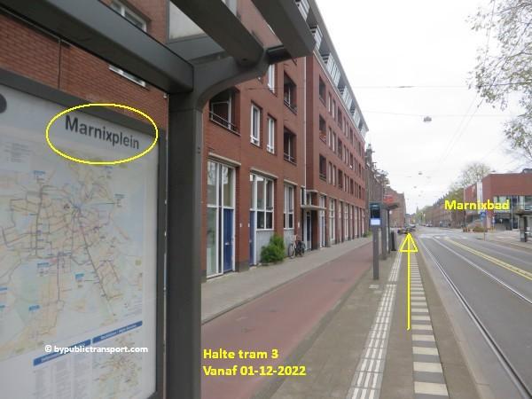 hoe kom ik bij de noordermarkt amsterdam met het ov openbaar vervoer by public transport 12