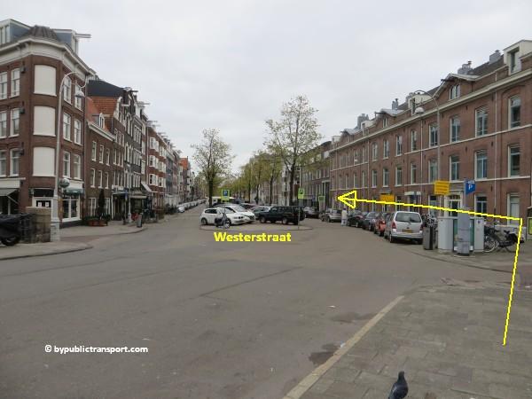 hoe kom ik bij de noordermarkt amsterdam met het ov openbaar vervoer by public transport 15