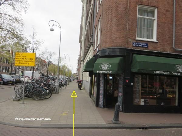 hoe kom ik bij de noordermarkt amsterdam met het ov openbaar vervoer by public transport 16