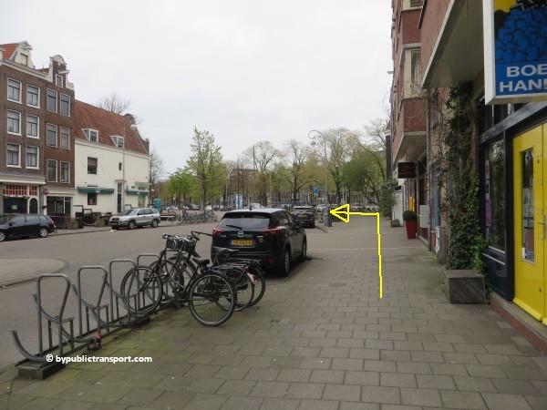 hoe kom ik bij de noordermarkt amsterdam met het ov openbaar vervoer by public transport 17