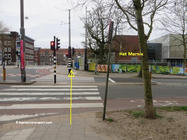 hoe kom ik bij de noordermarkt amsterdam met het ov openbaar vervoer by public transport 22